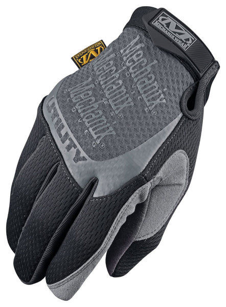 Mechanix Wear H15-05-010 All Purpose Utility Glove, Black, Large