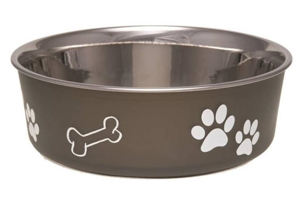 Boss Pet 7407XLE Bella Food Bowl Pet Feeding Bowls, X-Large, Espresso