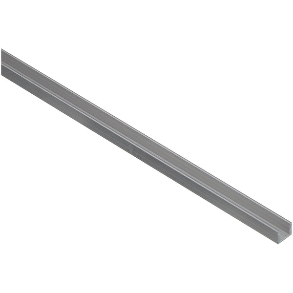 "National Hardware N247-643 4208BC Aluminum Channel, 1/4"" x 72"", Mill, 1/16"" Thick"