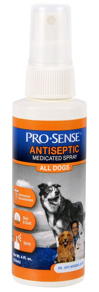 Pro-Sense P-82651 Antiseptic Medicated Spray, 4-Oz
