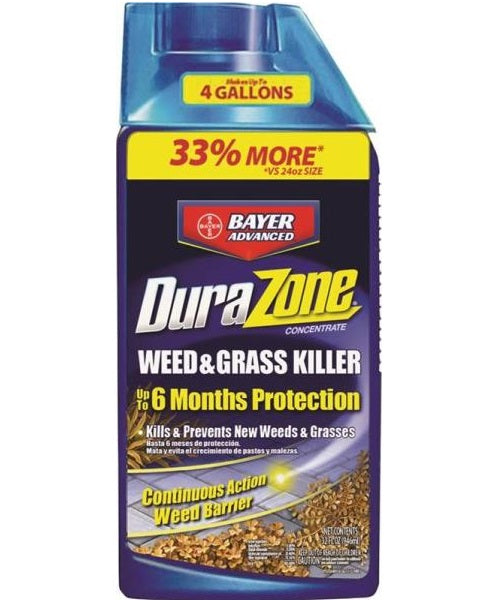 Bayer Advanced 704330Q Durazone Concentrate Weed And Grass Killer, 32 Oz