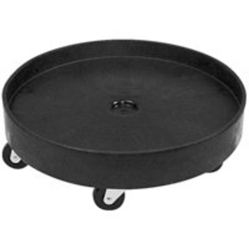 Rubbermaid FG265000BLA Universal Drum Dolly, Black