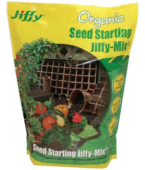 Jiffy G316 Organic Seed Starting Mix, 16 Quart