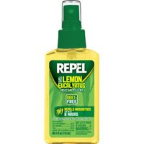 Repel HG-94109 Lemon Eucalyptus Pump, 4 Oz
