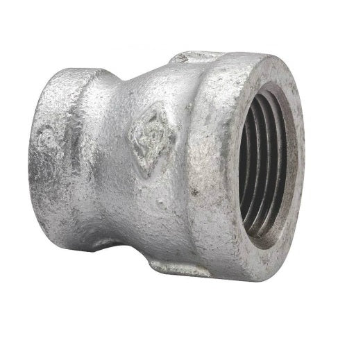 "Worldwide Sourcing 24-11/4X3/4G Malleable Reducing Coupling, 1-1/4"" x 3/4"""