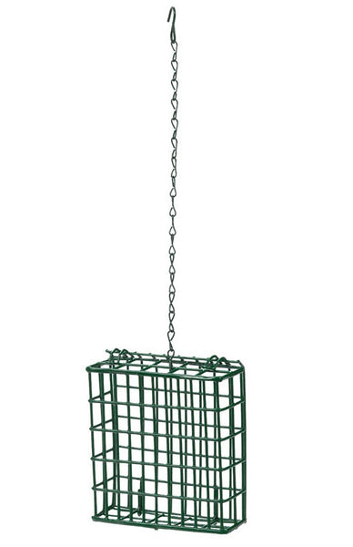 Heath S-1-8 Single Hanging Suet Feeder, Metal