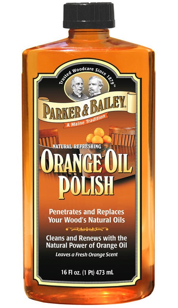 Parker & Bailey 510677 Wood Oil Polish, 16 Oz, Fresh Orange