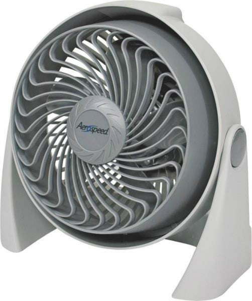 "Aerospeed AC800 Air Circulator, 8"", 3 Speed"