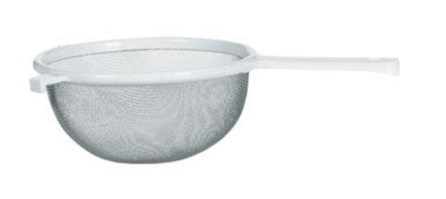 Chef Craft 21491 Plastic Handle Mesh Strainer, 8""