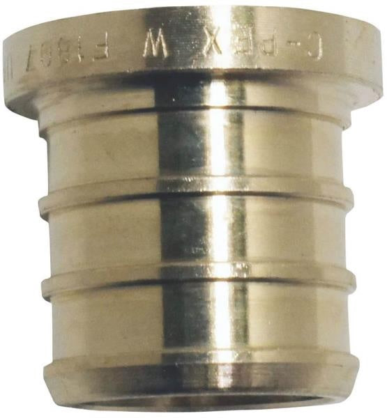 Apollo Valves CPXP34 Brass PEX Test Plug, 3/4""