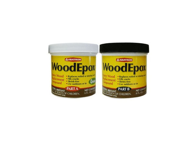 Abatron WEAB6OR WoodEpox Wood Restoration System Kit, 12 Oz