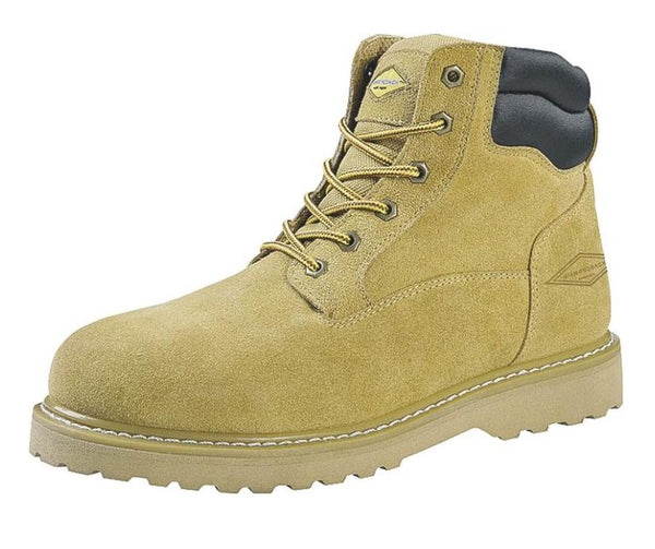 "Diamondback 1-10.5 Suede Leather Workboot 6"", 10.5"