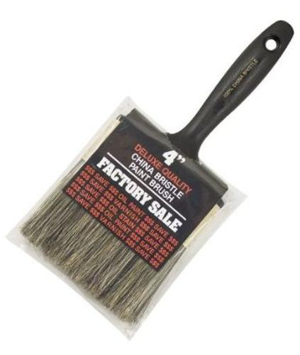 Wooster Z1101-4 Factory Sale Gray Bristle Paint Brush, 4""