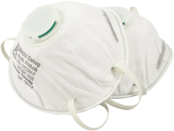 Forney 55901 N95 Disposable Respirator With Exhale Valve