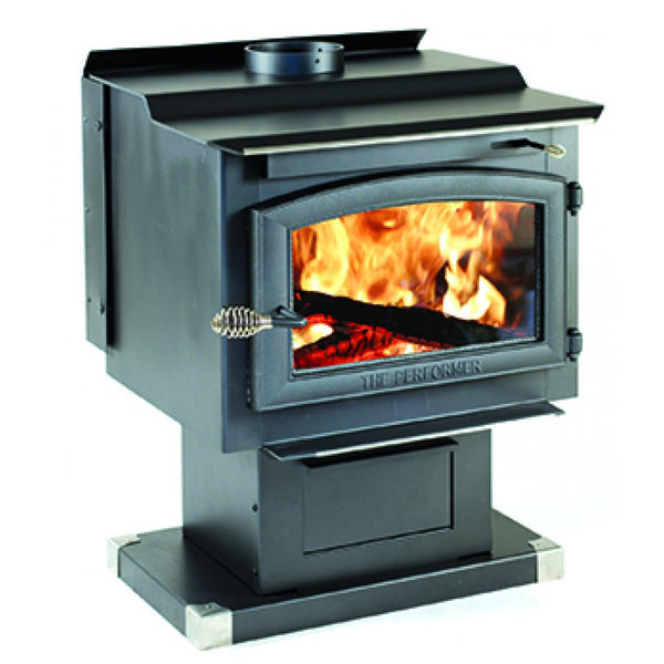 Vogelzang TR009 Performer EPA Wood Stove with Blower, 2200 sq. ft.