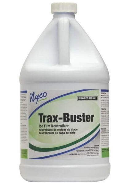 Nyco NL174-G4 Trax-Buster Professional Ice Melt Film Dissolver, Pink, 1 Gallon