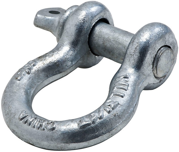National Hardware N830-310 Anchor Shackle, Forged steel, Galvanized, 5/8""