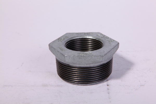 "Worldwide Sourcing 35-1/2X3/8G Malleable Pipe Bushing, 1/2"" x 3/8"""