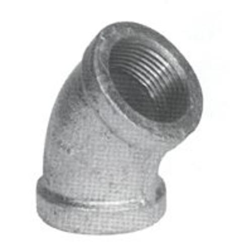 B & K 510-210BC Galvanized Elbow Pipe Fitting 3""