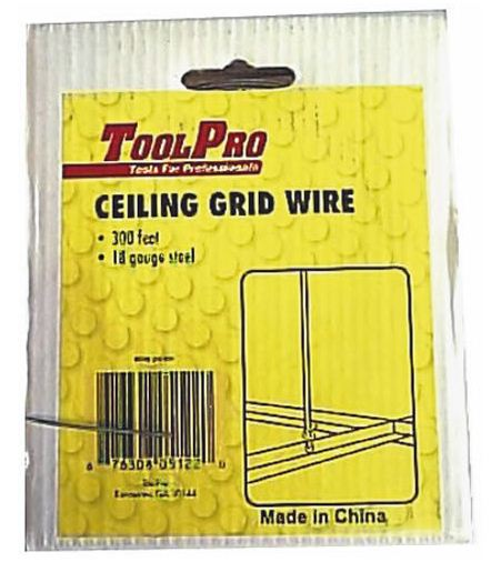 Toolpro 05122 Ceiling Grid Hanging Wire, 300'