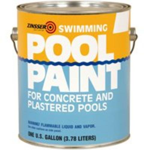 Zinsser 260538 Swimming Pool Paint, 1 Gal, White