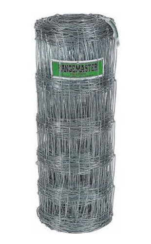 Rangemaster 6656 Galvanized Field Fence, 12.5 Gauge, 330'