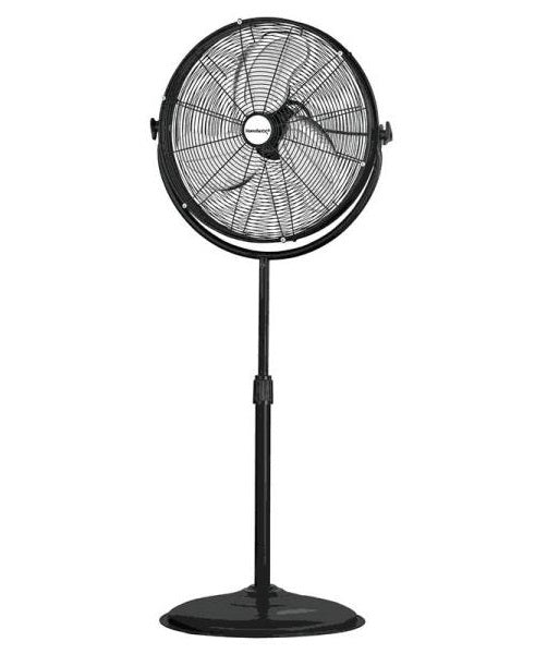 PowerZone FES50-T5 Hi-Velocity 3-Speed Pedestal Fan with Stand, 20""