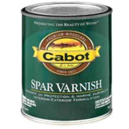 Cabot 144.0018042.005 VOC Spar Varnish, 1 Qt, Satin