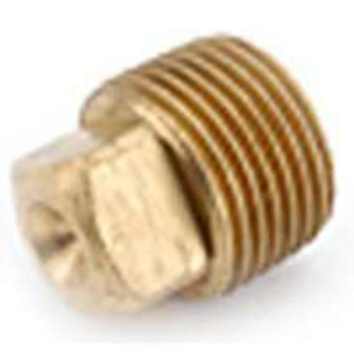 "Anderson Metals 738114-20 LO-LEAD SOLID PLUG 1-1/4""  RED BRASS"