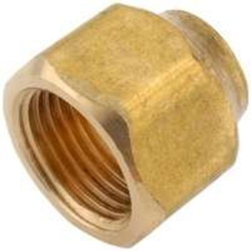 "Anderson 754020-0604 Reducing Flare Nut 3/8""x1/4"", Brass"