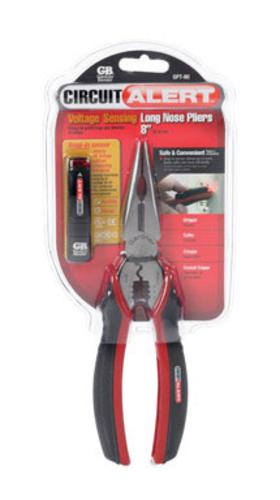 GB Electrical GPT-80 Volt-Sensing Long Nose Pliers 8""