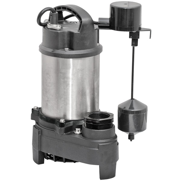 Superior Pump 92571 Sump Pumps, Stainless Steel, 1/2 Hp