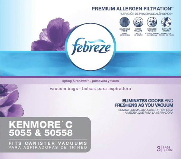Febreze 21R51 Kenmore C Replacement Vacuum Cleaner Bag