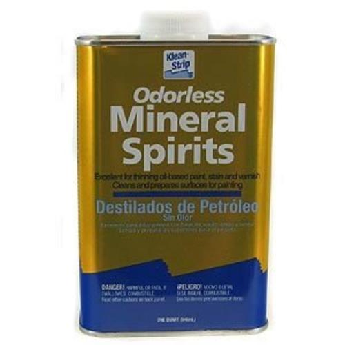 Klean Strip QKSP94005 Odorless Mineral Spirits, 1 Quart