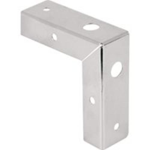"Prime Line Products N7193 Corner Bracket Repair Kit 1-1/8"", Zinc"