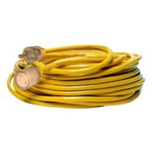 Coleman Cable 2991 Tblade Extsn Cord, 10/3 X 50 Ft