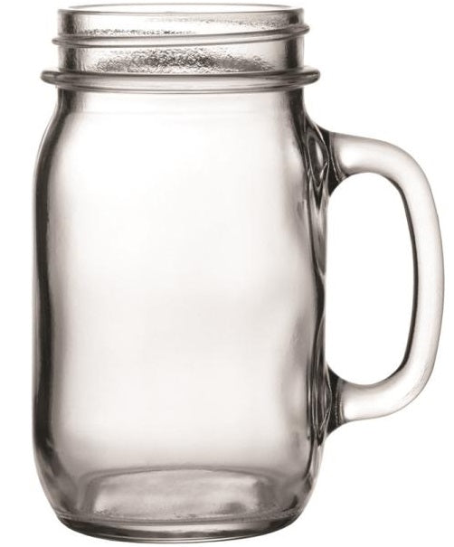 Anchor Hocking 10861 Mason Jar Mug, 16 Oz