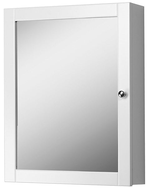 Foremost COWC1924 Columbia Bathroom Medicine Cabinet, White