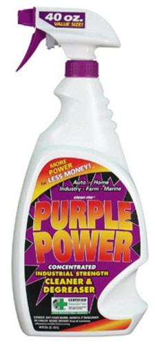 Purple Power 4319PS Industrial Strength Cleaner/degreaser, 40 Oz