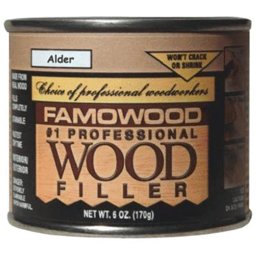 Famowood 36041100 Wood Filler 4 Oz, Alder