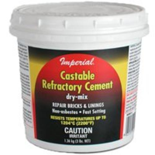 Imperial KK0062 Castable Refractory Cement, 12""