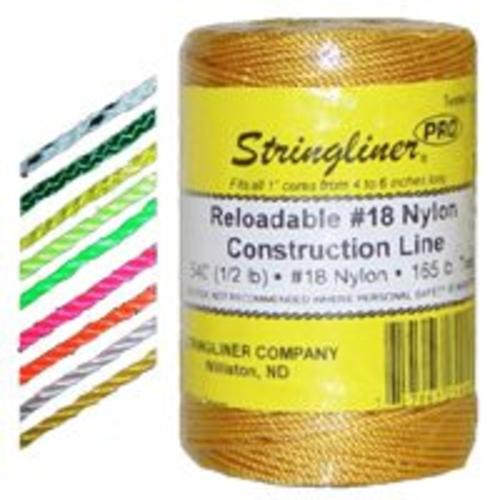 Stringliner 35453 Twine Braided 500' - White