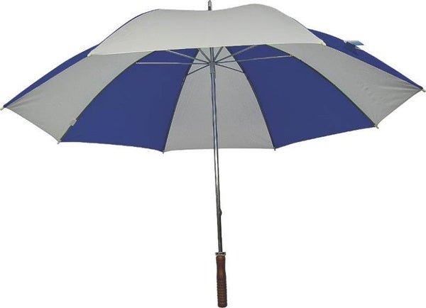 "Homebasix TF-06 Golf Umbrella, 29"", Royal Blue & White"