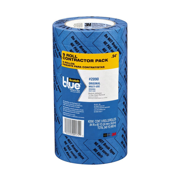 "ScotchBlue 2090-48A-CP Multi-Use Painter's Tape, Blue, 1.88"" x 60 Yd, 6-Rolls"