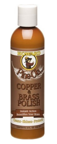Howard CB0008 Pine-Ola Copper & Brass Polish, 8 Oz