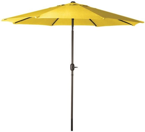 Seasonal Trends 60038 Market Crank Umbrella, Yellow
