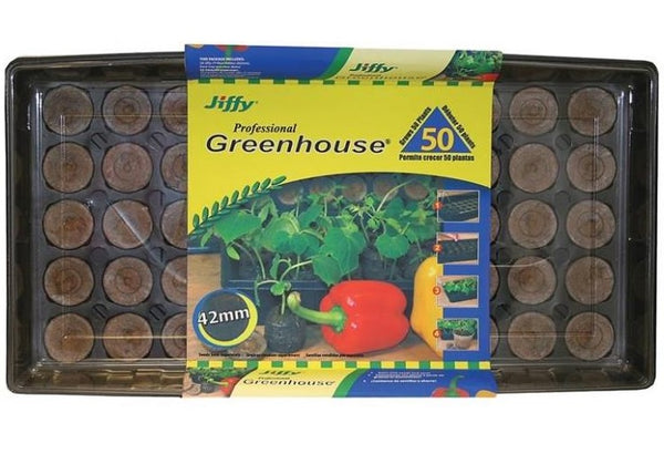 Jiffy J450 Professional Greenhouse, Grows 50 Plants, 42 MM