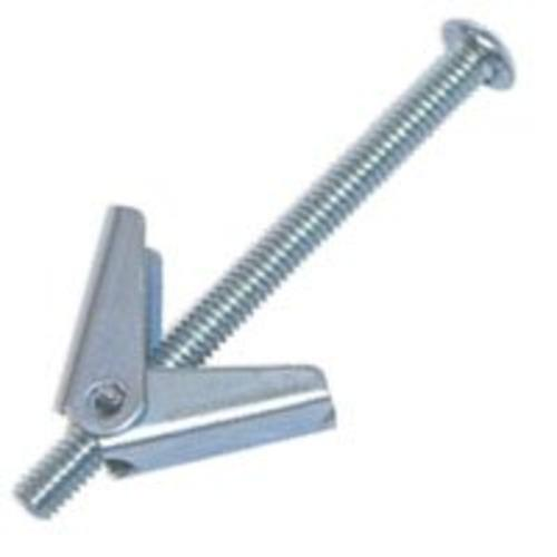 "Cobra Anchors 086M Spring Toggle Bolt, 3/16"" X 3"""