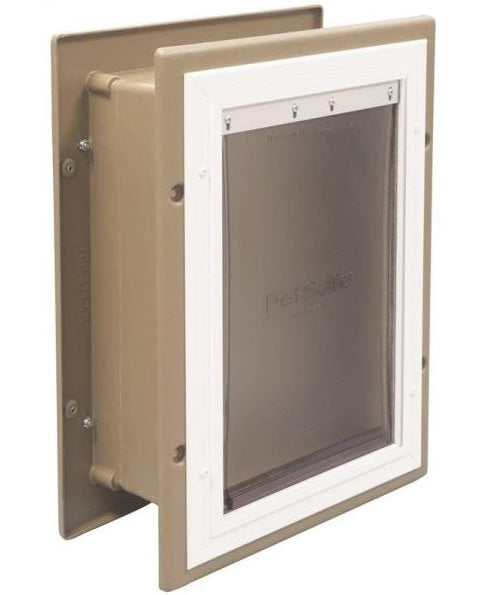 PetSafe HPA11-10919 Wall Entry Pet Door, Medium