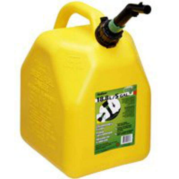 Scepter 05898 Diesel Can 5 Gallon, Yellow